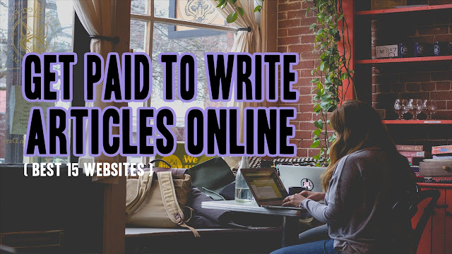Paid for writing articles