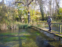 Yours truly surveying the River Anton