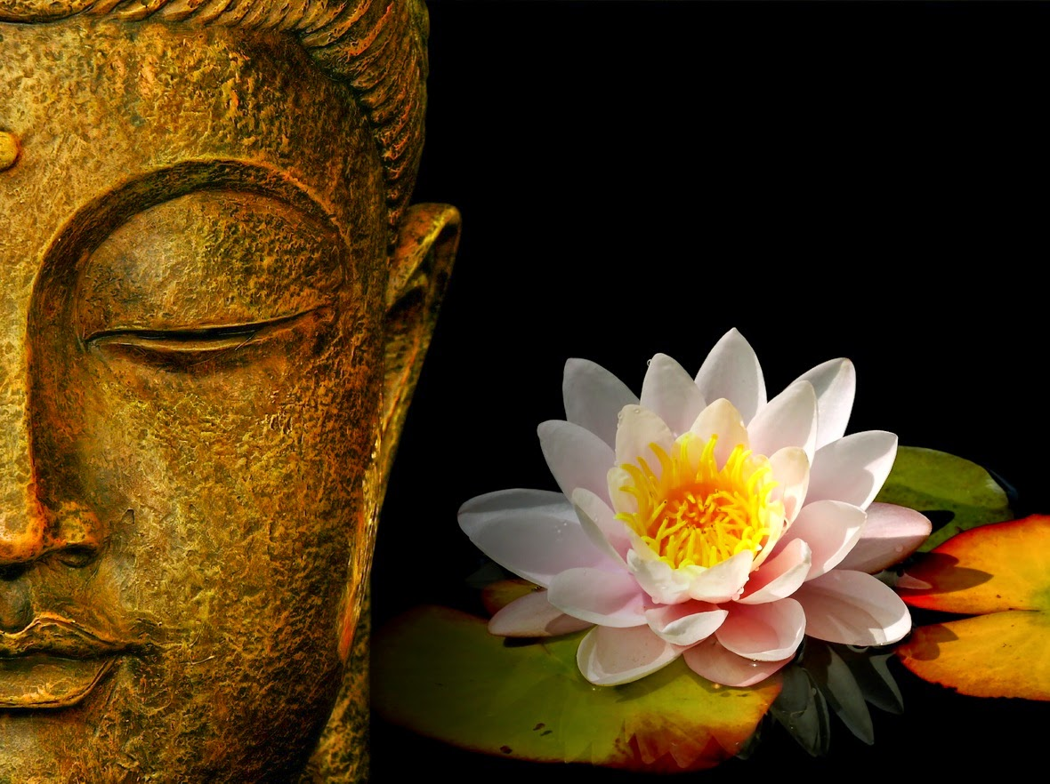 Lord Buddha face Art HD images and statue wallpaper