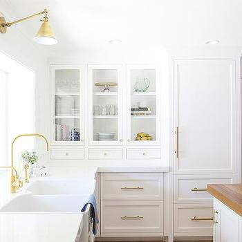 Peonies and orange blossoms house updates for june for Benjamin moore chantilly lace kitchen cabinets
