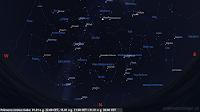 Niebo północne 01.01 o godz. 22:00 CET, 15.01 o godz. 21:00 CET i 31.01 o godz. 20:00 CET