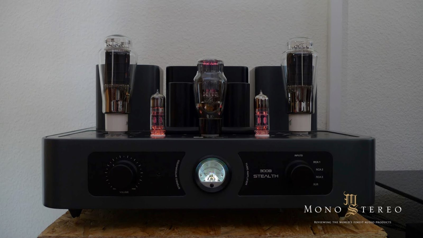 Trafomatic Audio 300B STEALTH amplifier story - Review Mono