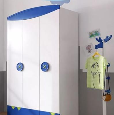 Tủ quần áo thông minh hiện đại dành cho bé trai 2