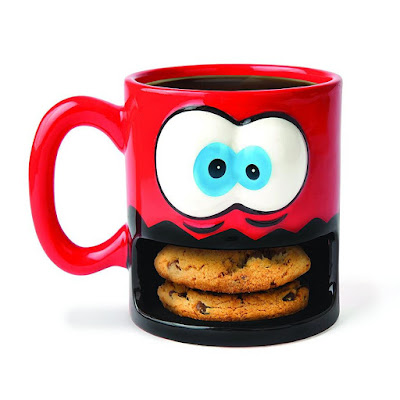 Colorful Cookies Coffee Cup