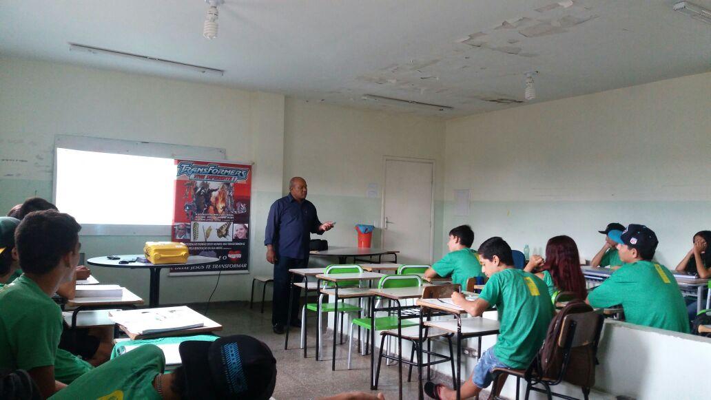 Escola Estadual Vilmar Vieira Matos Dourados Ms Palestra