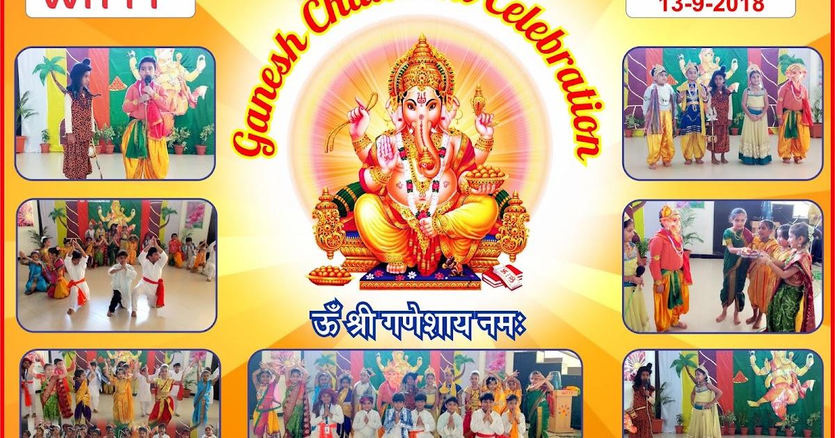 Ganesh Chaturthi Celebration at WIS Udaipur On