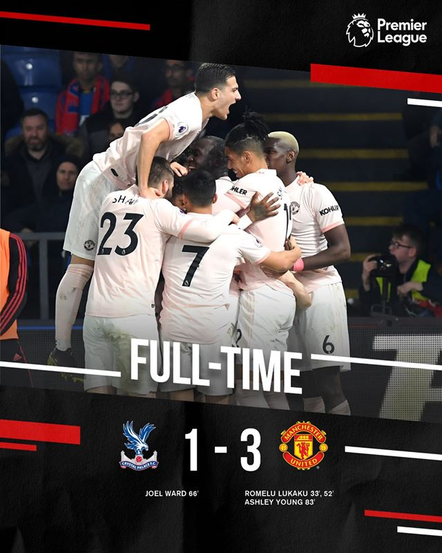 Football Highlights: Crystal Palace 1 - 3 Manchester United [English Premier League] Highlight 2018/2019