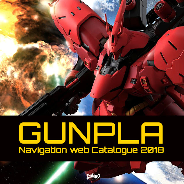 Gunpla Navigation Web Catalogue 2018 by Izutaro