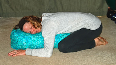 supported+child%2527s+pose - Takin It Easy In the Take It Easy Fleece Pullover