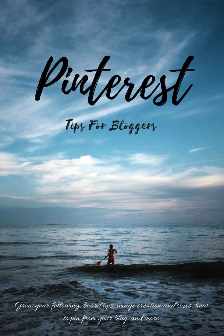 Pinterest Tips For Bloggers 2017 images pinning advice