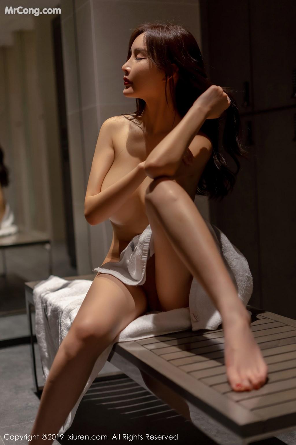 Image XIUREN-No.1331-Tu-Fei-Yuan-Ai-Cuo-Qiong-MrCong.com-010 in post XIUREN No.1331: 奶瓶土肥圆矮挫丑黑穷 (48 ảnh)