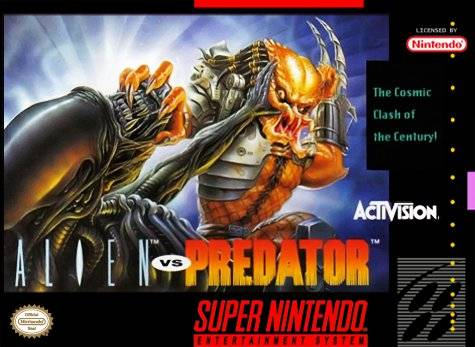ROMs - Alien vs. Predator (Português) - SNES Download