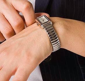 9d065c3b21c Sabia que não deve apertar demasiado o relógio ao seu pulso
