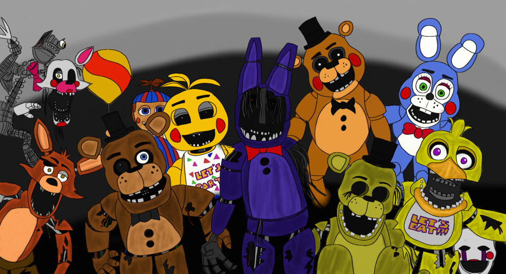 Five five nights at freddys pictures freddy elhouz