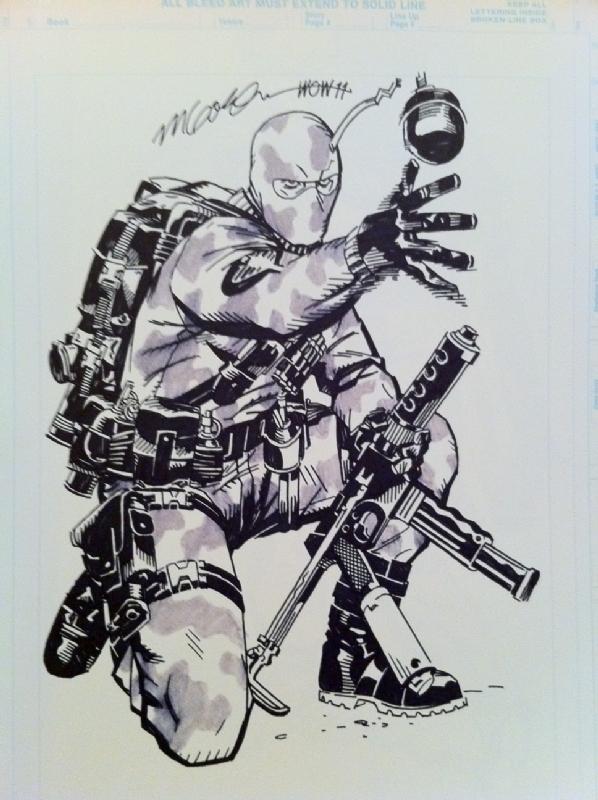 Cap N S Comics More Michael Golden