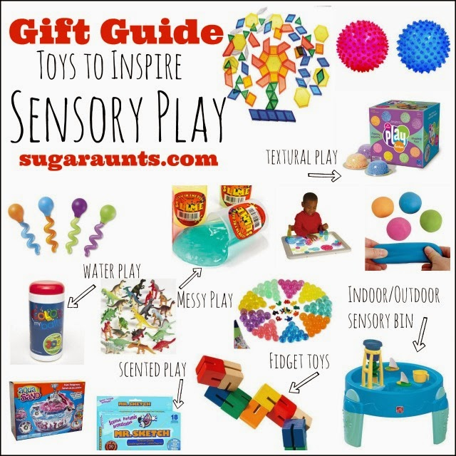 Gift Guide: Toys to Inspire Sensory Play. By Sugar Aunts