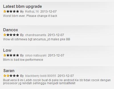 Bbm downgrade versi link versi 8 download ke 7