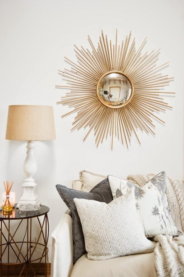 diy espejo decoración vintage hogar