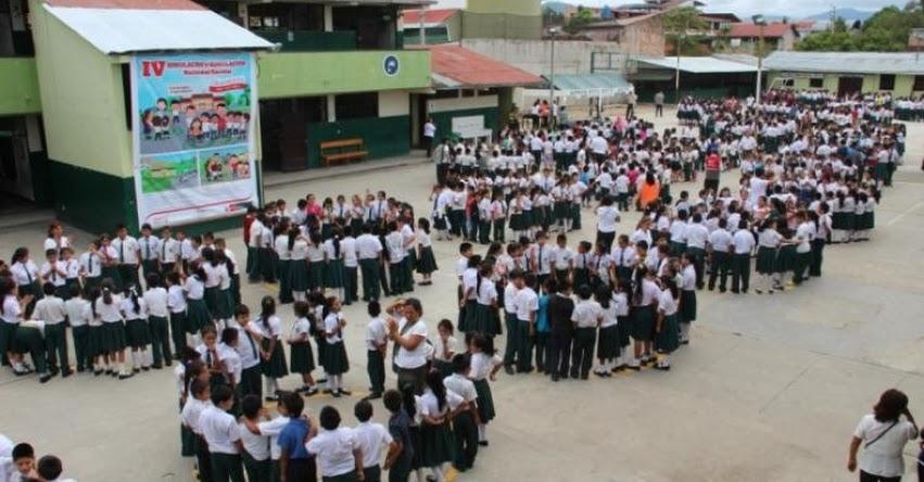DRE San Martín: Más de 254 mil escolares participarán en primer simulacro y simulación de sismo e inundaciones - www.dresanmartin.gob.pe