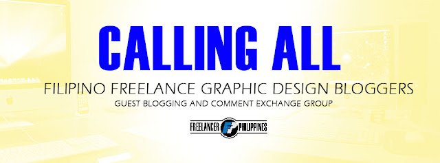 Freelance Graphic Design Blog Commenting exchange
