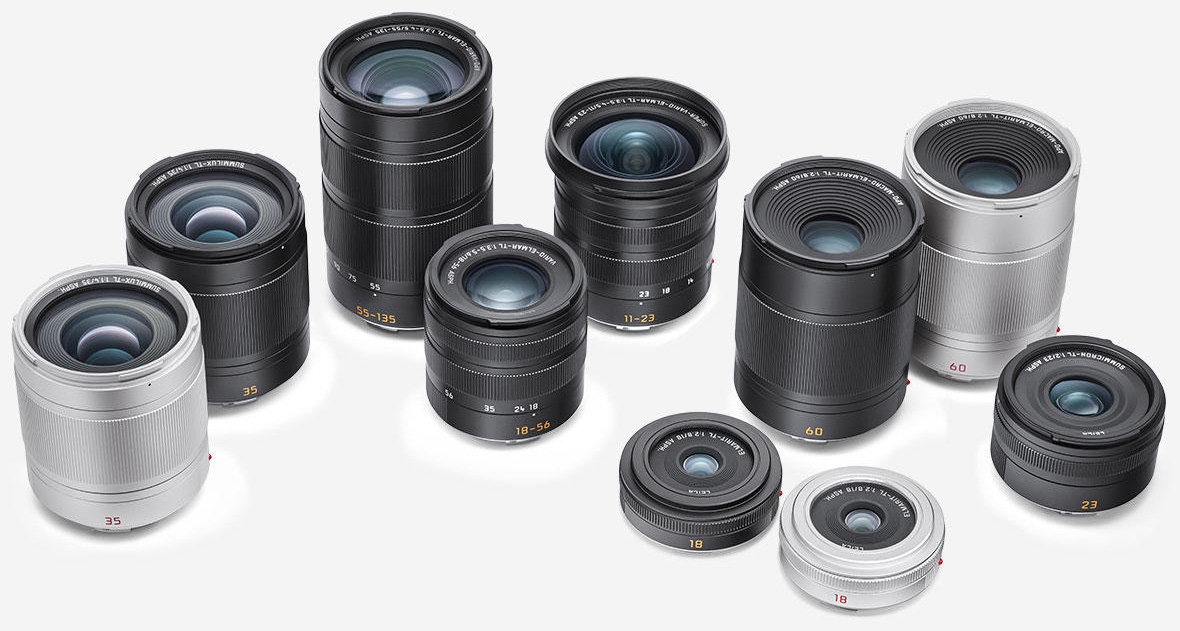 Объективы для камер Leica T/TL