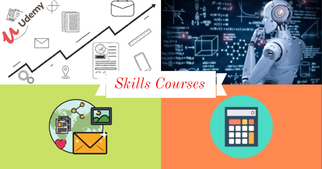 Skills Courses Offer from Udemy