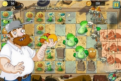 Gameplay Plants vs. Zombies 2 APK