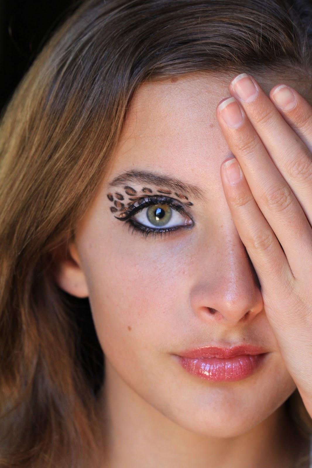 Makeup Crazy: Leopard Eye! :D