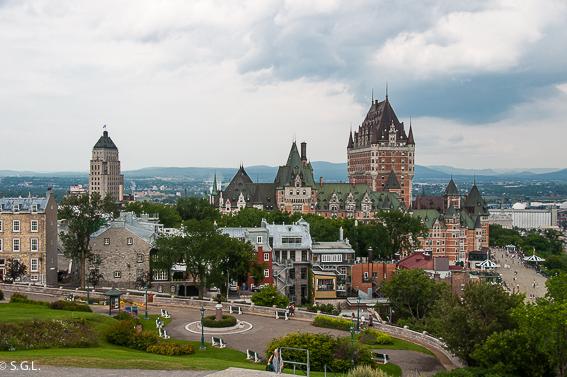 Castillo Frontenac en Quebec. Canada