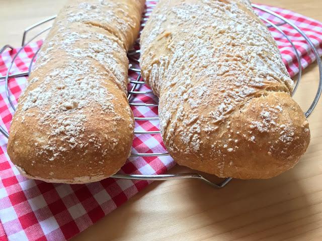 pan de chapata casero receta
