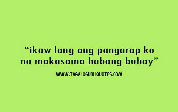 Love Quotes For Girlfriend Tagalog