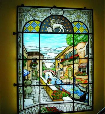 Художественный витраж Волгоград в окна и двери