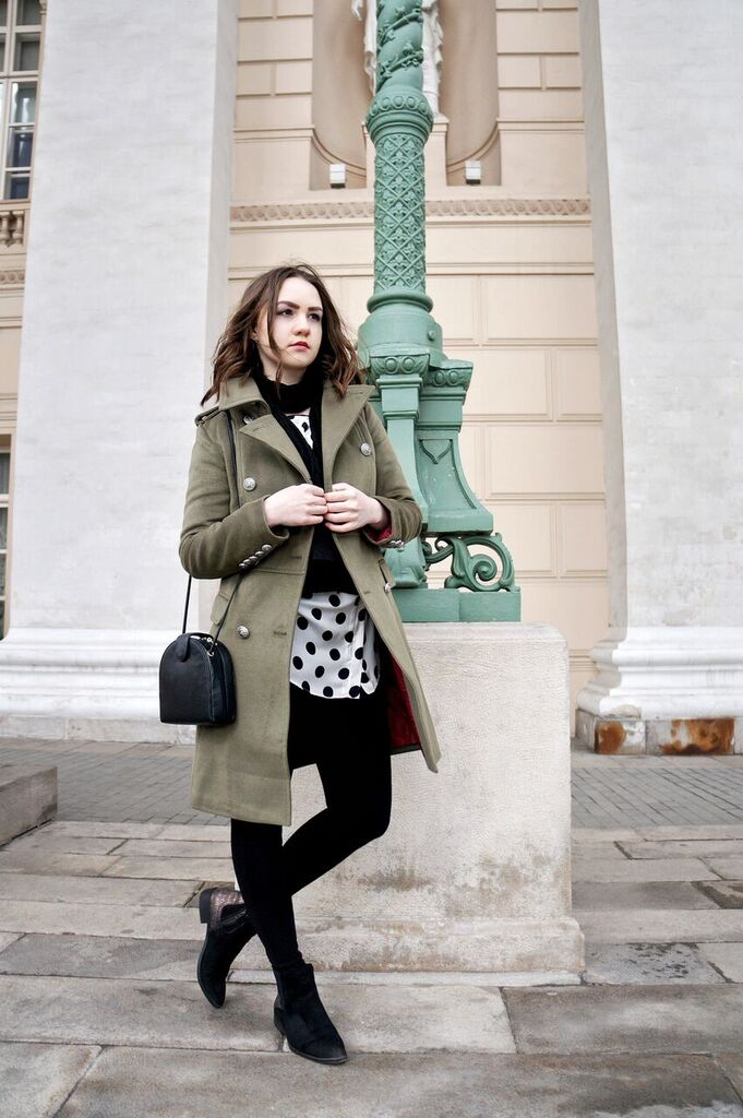 Military Inspired Coat | Fashion Blogger