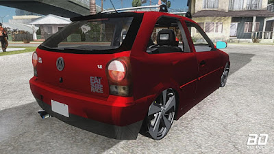 Download , Mod, Carro , GOL G4 RALLY TURBO (CARROVLOG) para GTA San Andreas, GTA SA , Jogo PC