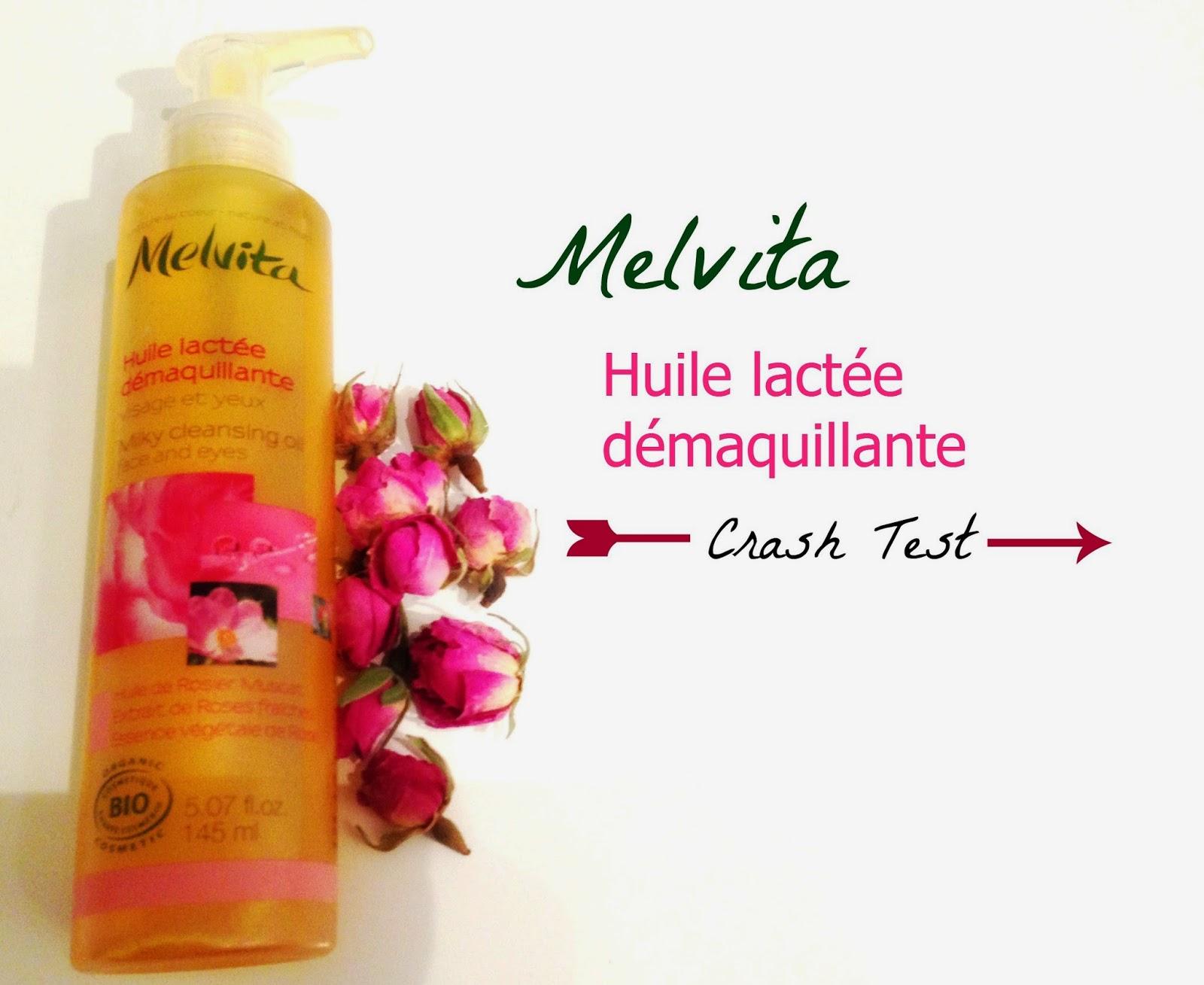 huile démaquillante Melvita