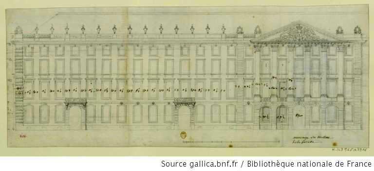 ancienne place Bellecour Robert de Cotte - visite guidée de Lyon - Nicolas Bruno Jacquet