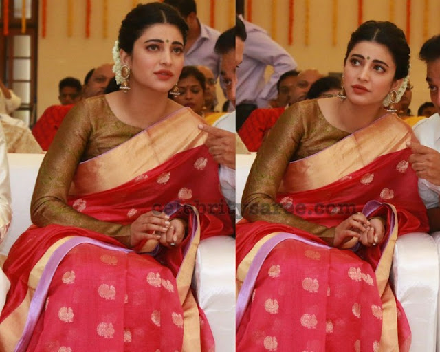 Sruthi Hassan and Michael Corsale at Aadhav Vinodhini Wedding