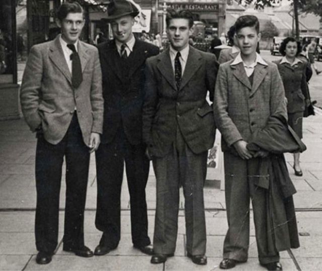 Así se vestían los hombres a pesar de la Gran Depresión en la década de 1930