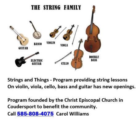 Strings & Things Christ Episcopal Church