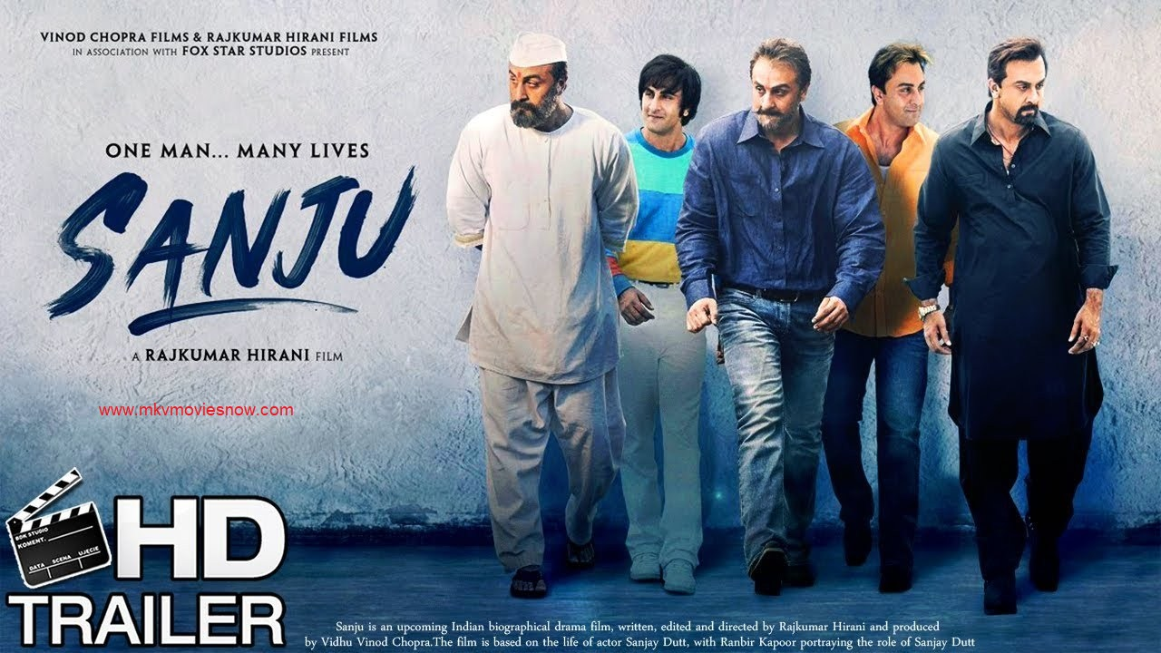 sanju 2018 hindi 480p hd full movies - mkvmoviesnow | 300mb