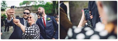 smartphone al matrimonio