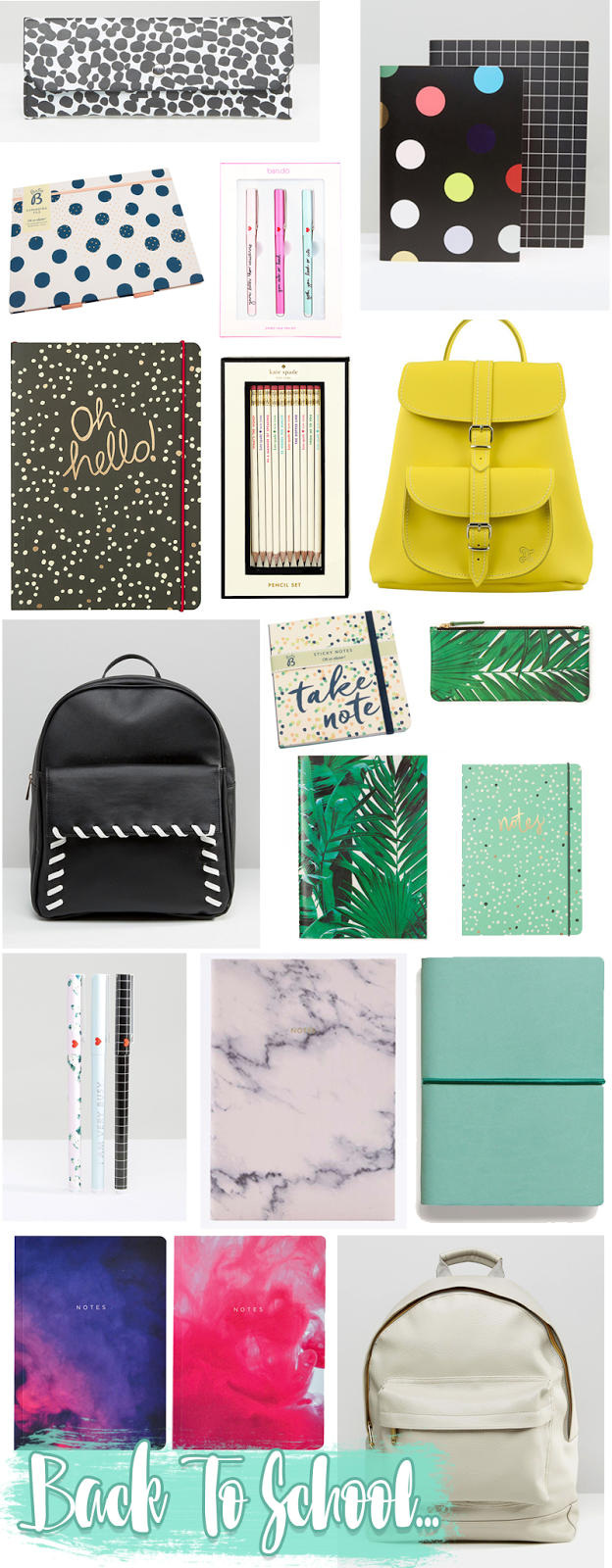 Back To School Buys Stationery Wishlist College University | Colours and Carousels - Scottish Lifestyle, Beauty and Fashion blog