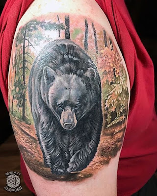 black bear arms tattoo