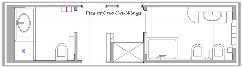 Pics of creative wings primo progetto a jesolo 3 - Planimetria bagno piccolo ...