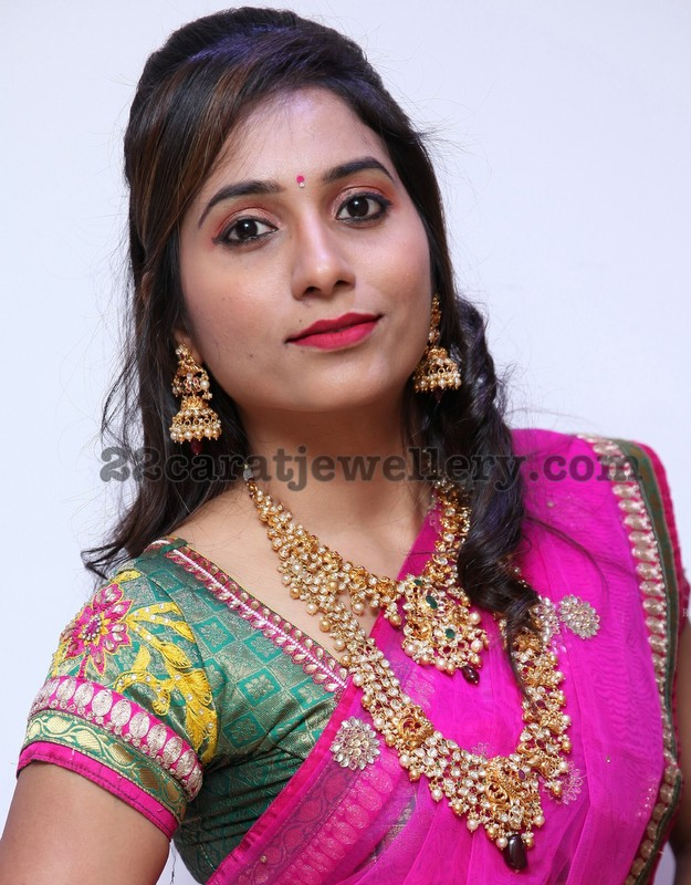 Bhanu Priya Pachi Work Jewelry