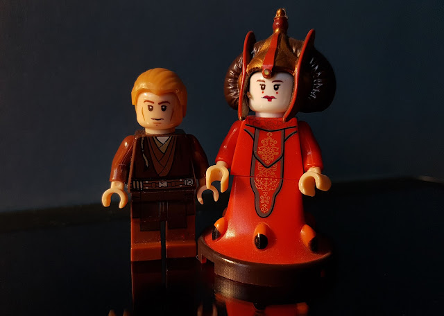 Queen Padme Amidala and Anakin Skywalker Clone Wars Star Wars