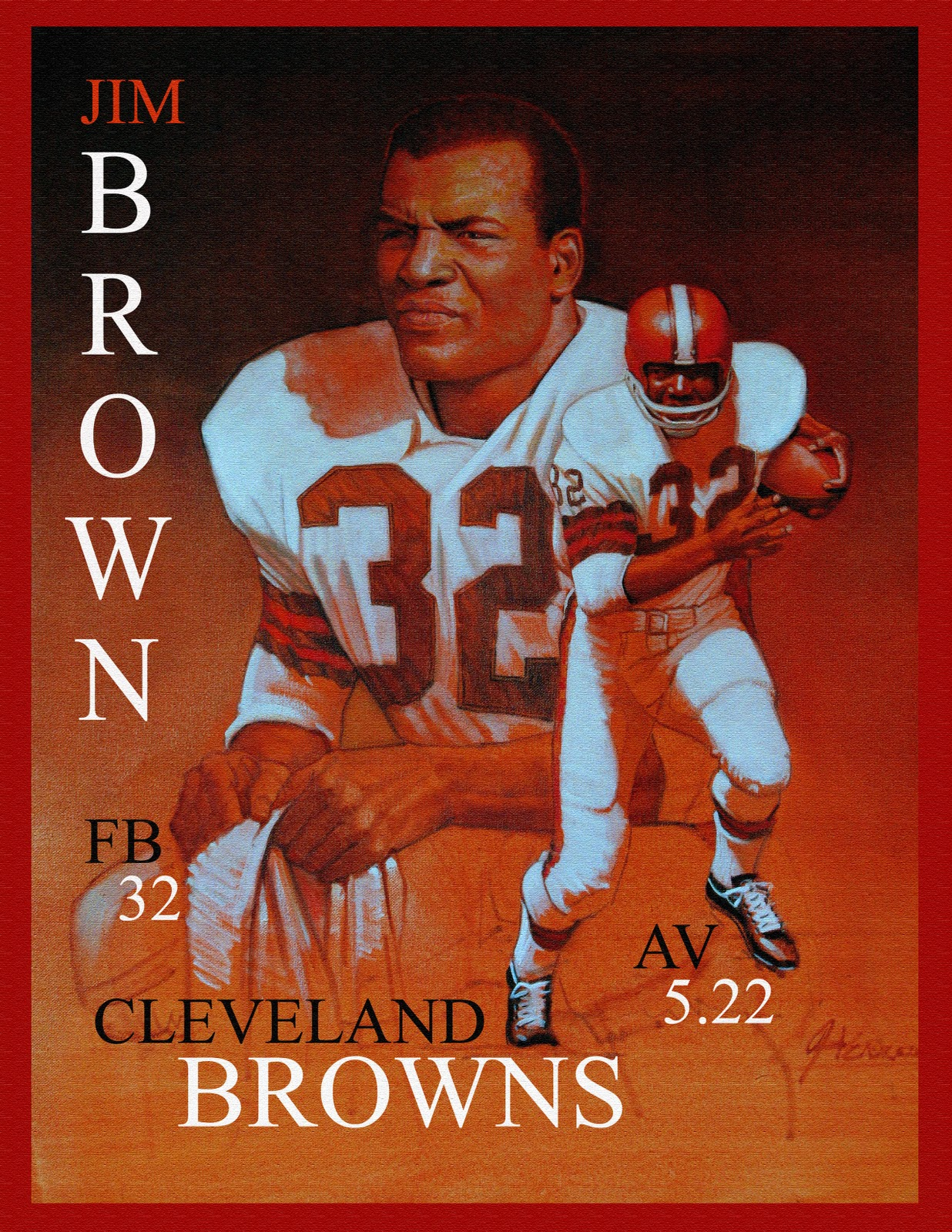 Jim Brown Highlight Video {Jim Brown 77 Today} | slicethelife