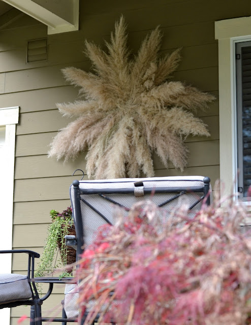 pampas grass wreath tutorial