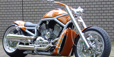 Kustom HD V-ROD Violator Chopper Style