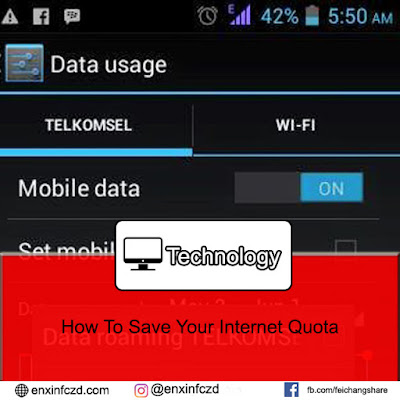 How To Save Your Internet Quota